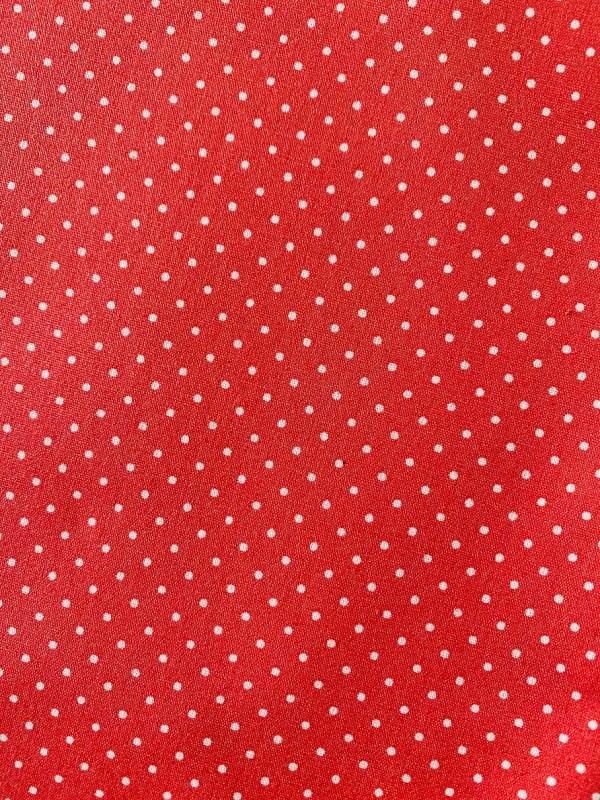 Zwemtasje rood roze stip