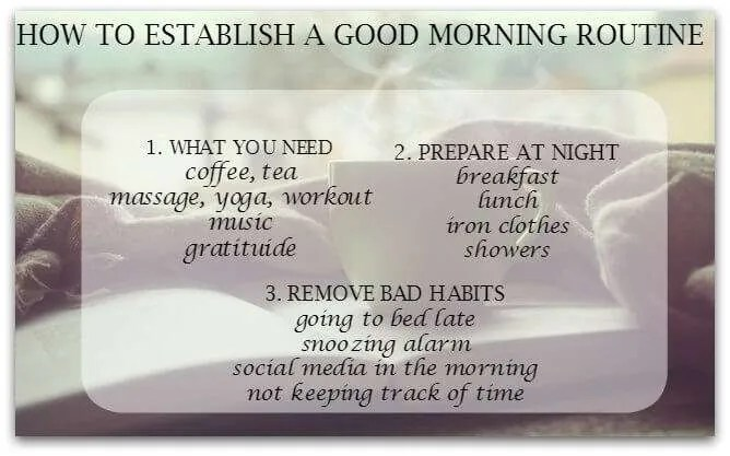 this gives me motivation to make a better morning routine.