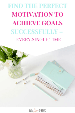 Do you ever have a hard time staying motivated to complete your goal? It's all about finding the perfect motivation. Click through to read how to find the perfect motivation. goals  motivation 