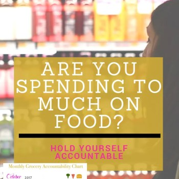 A clever way to reduce your spending and find patterns so that you can save money on grocery shopping, eating out and ordering in.