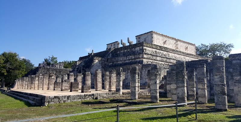 Chicen Itza tempio dei guerrieri