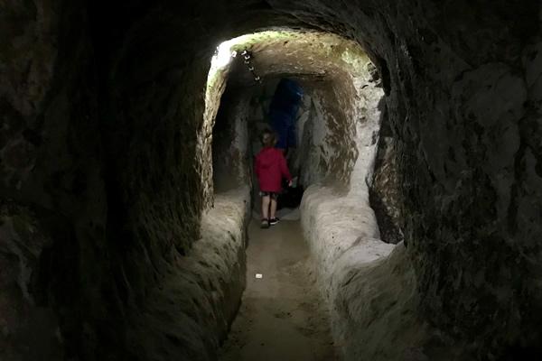 Turchia città sotterranea