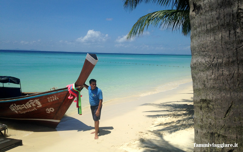 mare della Tailandia Phi Phi Island