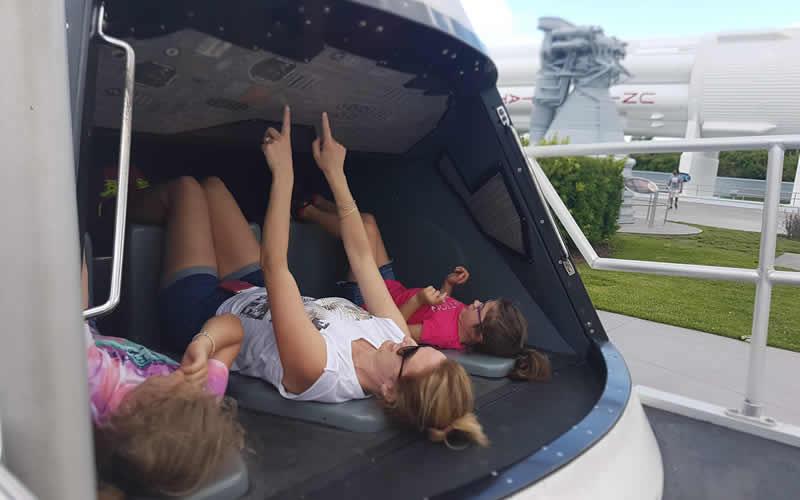 Cape Canaveral con i bambini