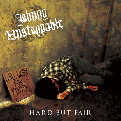 johnny unstoppable hard but fair cover art