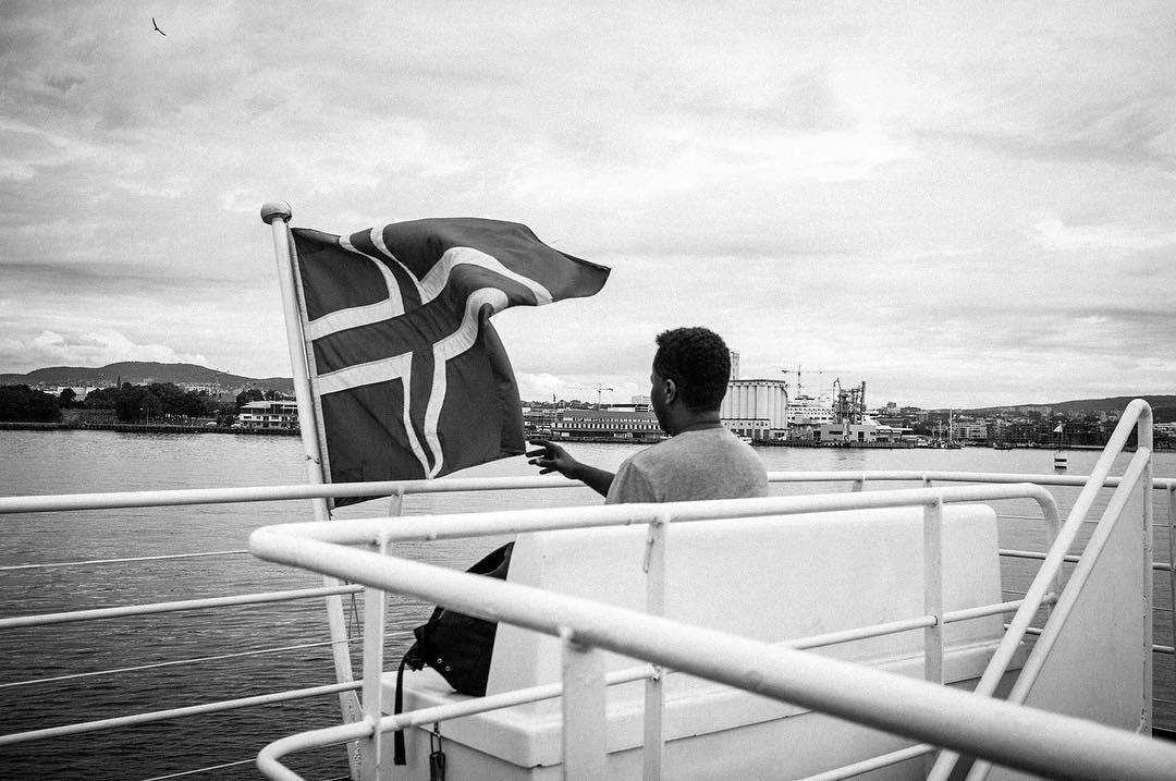 🇳🇴fujifilm fujifilmx100 oslo latergram photography boatlife ferryboat ankerbrygge norway