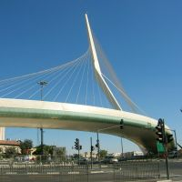 Chords Bridge, Jerusalem, Israel