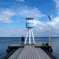 Life guard tower, Klampenborg