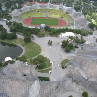 Roof for Olympic Stadium, Munich
