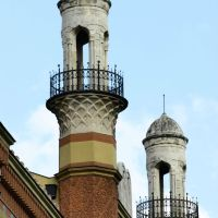 Rumbach Street Synagogue, Budapest, Hungary