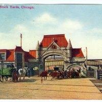 Union Stock Yard Gate