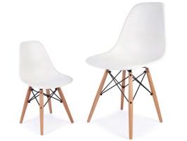 Kinder Stuhl Eames DSW   Weiß