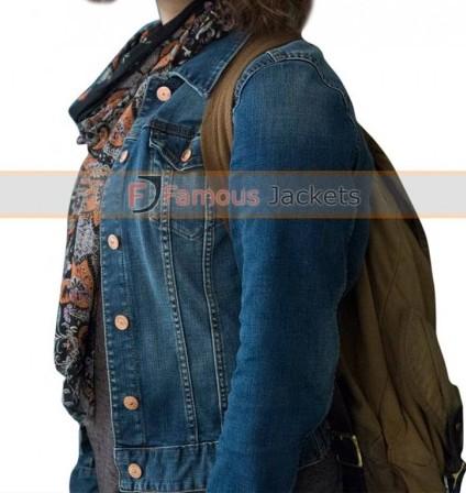 13 reasons why tv series hannah baker denim jacket £ 113 ...