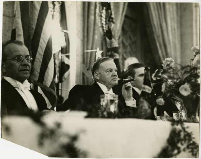 presidents who smoked cigars herbert hoover