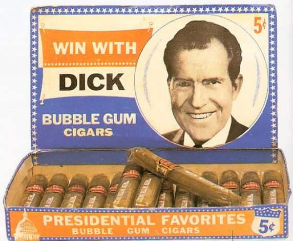 presidents who smoked cigars Richard Nixon