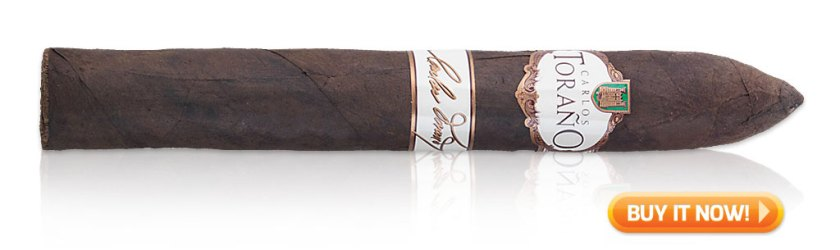 Carlos Torano Signature torpedo cigars
