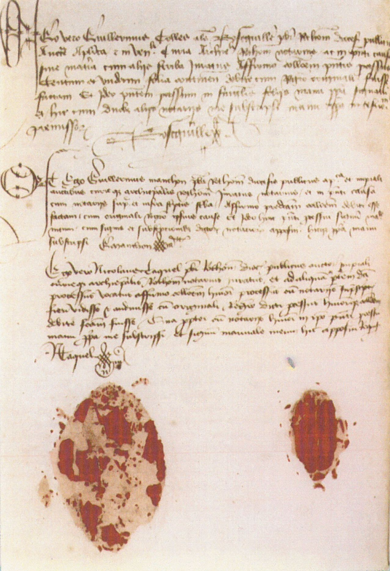 Joan Of Arc Trial Images Of Original Documents