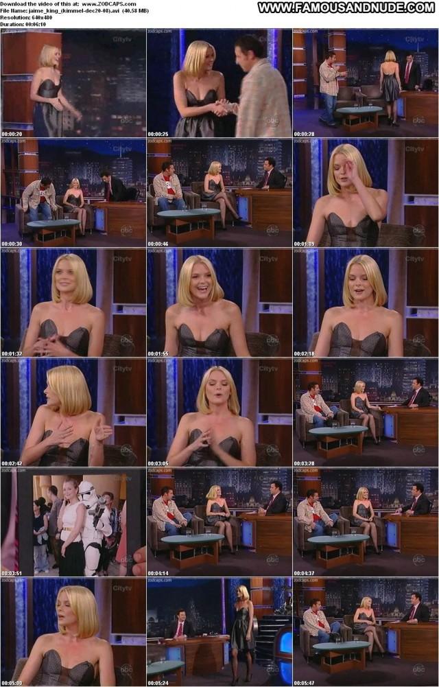 Jaime King Jimmy Kimmel Live Hot Medium Tits Beautiful Celebrity Doll