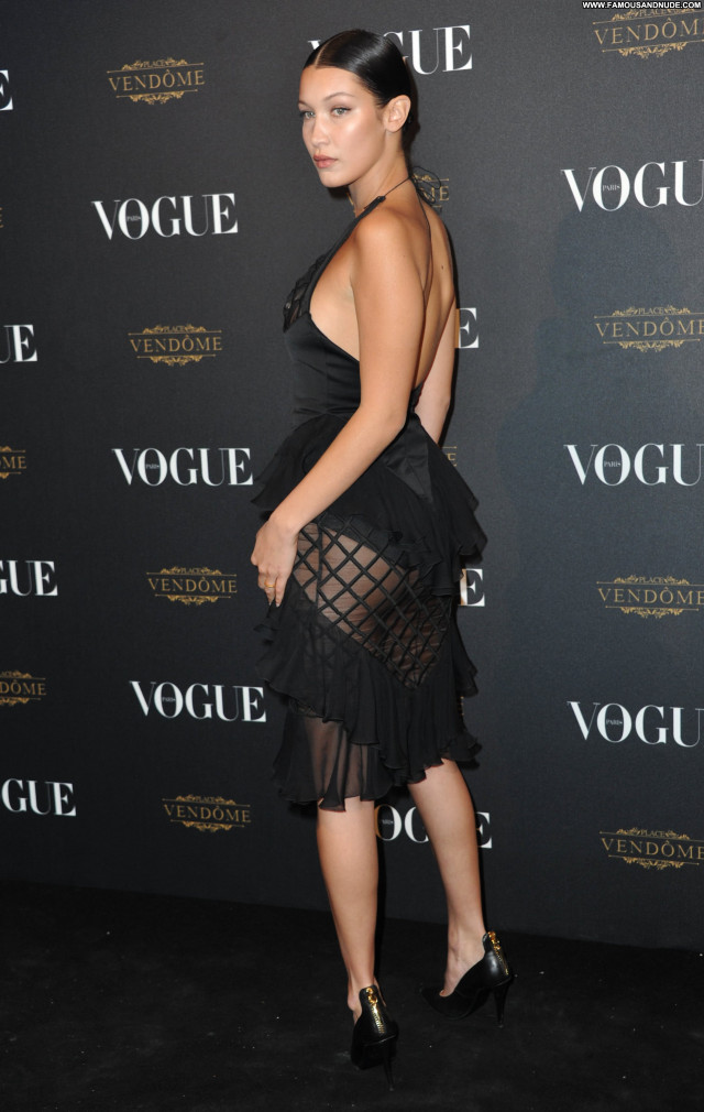 Stella Maxwell Anniversary Party Paris American Celebrity See Through