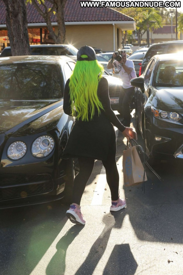 Blac Chyna Los Angeles Angel Posing Hot Celebrity Paparazzi Babe