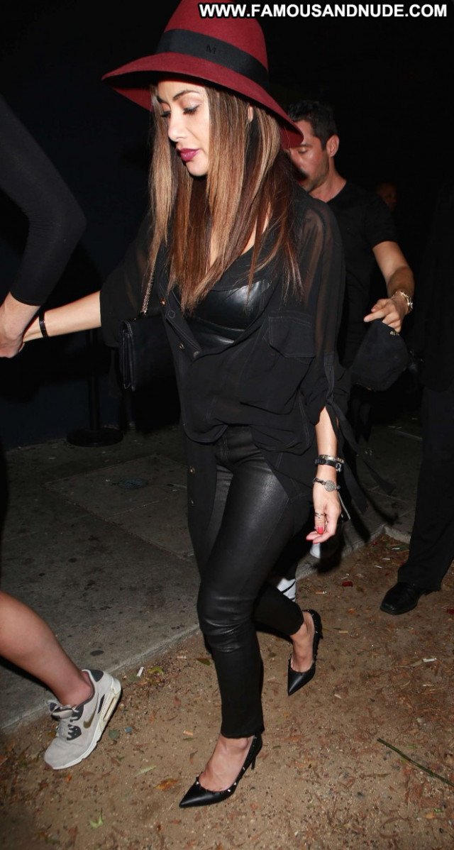 Nicole Scherzinger Beautiful Posing Hot Paparazzi Babe Night Club