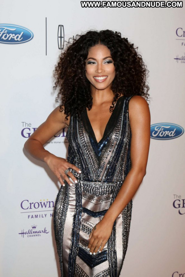 Lex Scott Davis Beverly Hills Paparazzi Awards Babe Beautiful Posing
