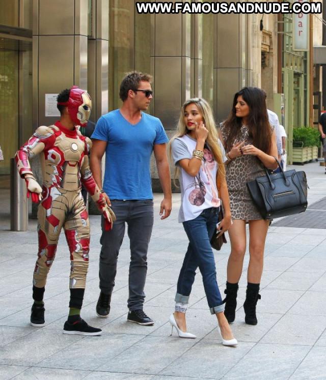 Kylie Jenner Iron Man Beautiful Paparazzi Posing Hot Babe Celebrity