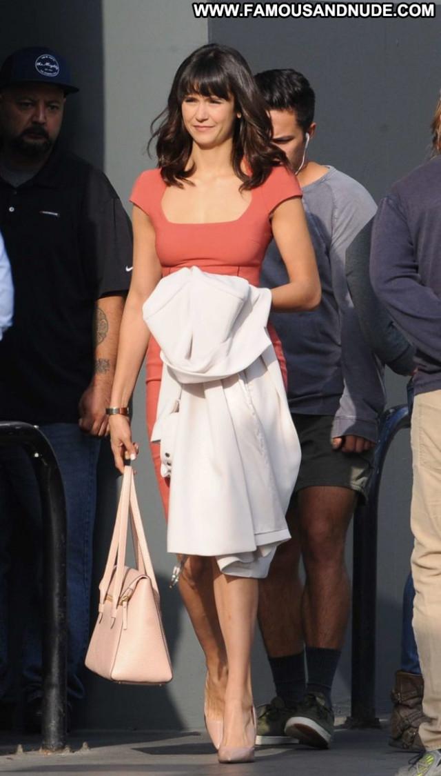 Nina Dobrev Los Angeles Posing Hot Angel Babe Celebrity Beautiful Los