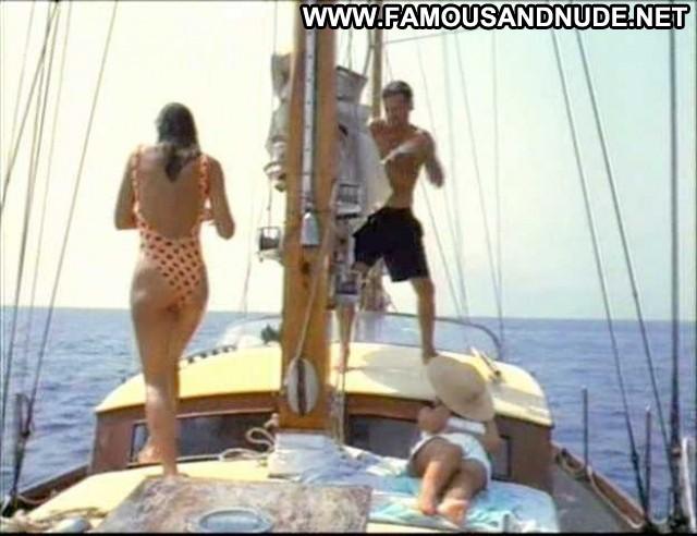 Elizabeth Hurley Kill Cruise Boat Swimsuit Ass