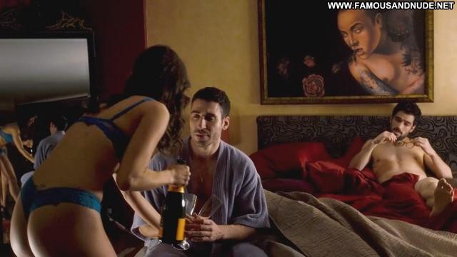 Erendira Ibarra Sense8 Bottle Glasses Showing Cleavage Thong