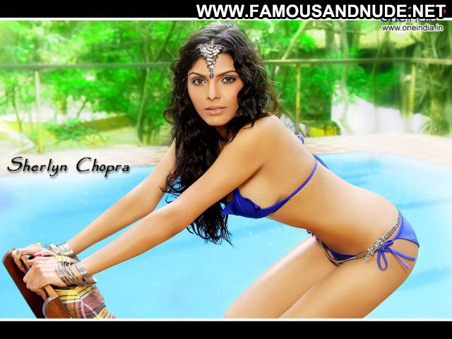 Sherlyn Chopra Famous Horny Showing Tits Posing Hot Actress
