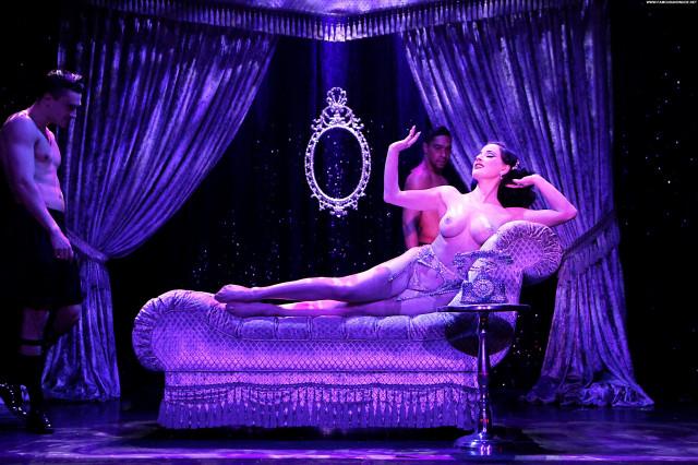 Katie Keight Cameron Davis Burlesque Nyc Bar River Hat Toples Upskirt