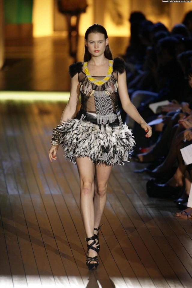 Behati Prinsloo Just Cavalli S S      Runway Celebrity Posing Hot