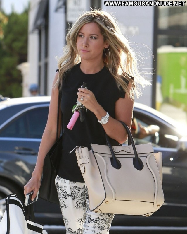 Ashley Tisdale Beverly Hills Beautiful Celebrity High Resolution Babe