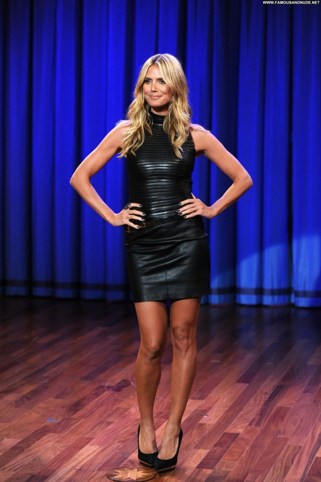 Heidi Klum Late Night With Jimmy Fallon Babe High Resolution