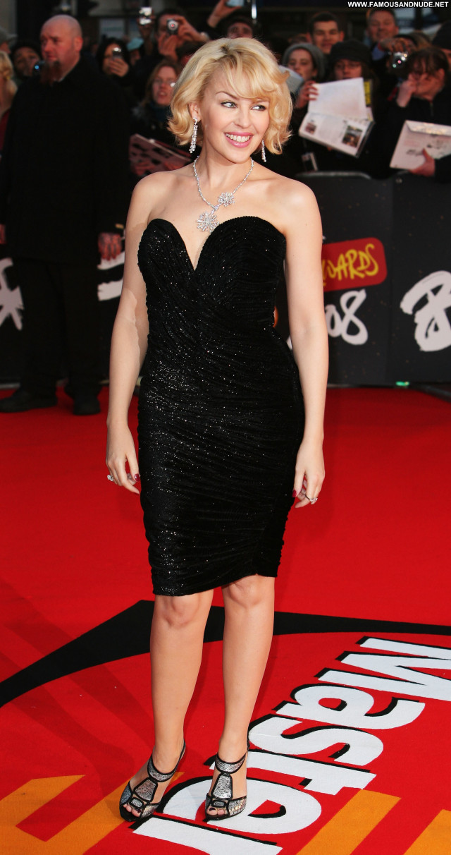 Kylie Minogue Brit Awards Awards Beautiful Posing Hot Celebrity Babe