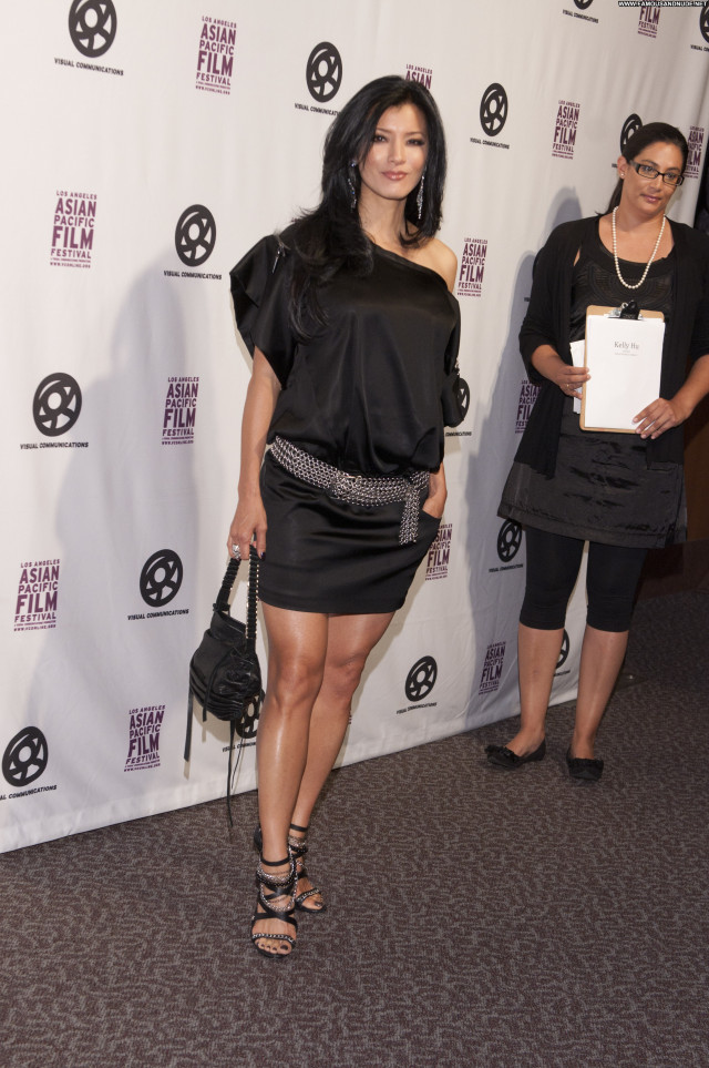 Kelly Hu Los Angeles Beautiful Asian Los Angeles Posing Hot Celebrity