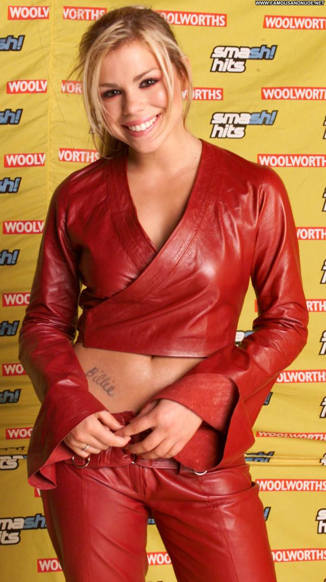 Billie Piper Instagram Beautiful British Babe Leather Posing Hot