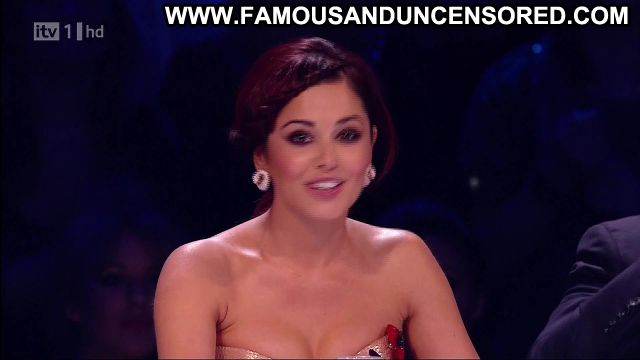 Cheryl Cole X Factor Showing Cleavage Redhead Posing Hot Hot
