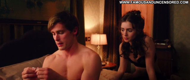 Lily Collins Celebrity Sex Posing Hot Lingerie Hd Babe Beautiful Cute
