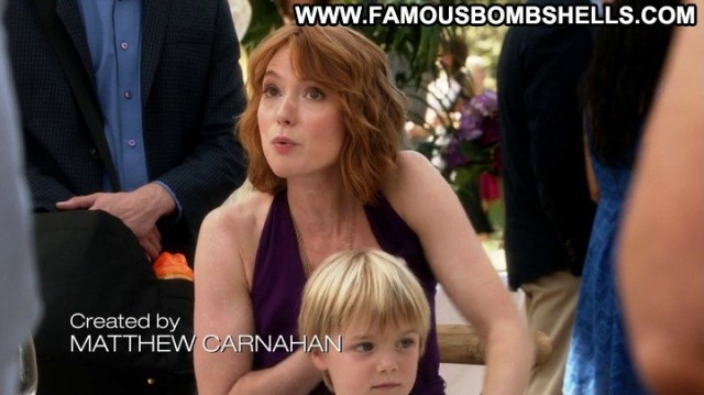 Alicia Witt House Of Lies Redhead Bombshell Beautiful Sultry Gorgeous