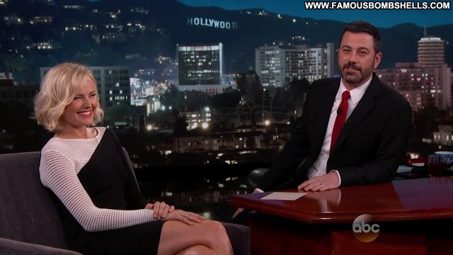 Malin Akerman Jimmy Kimmel Live Celebrity Bombshell Medium Tits