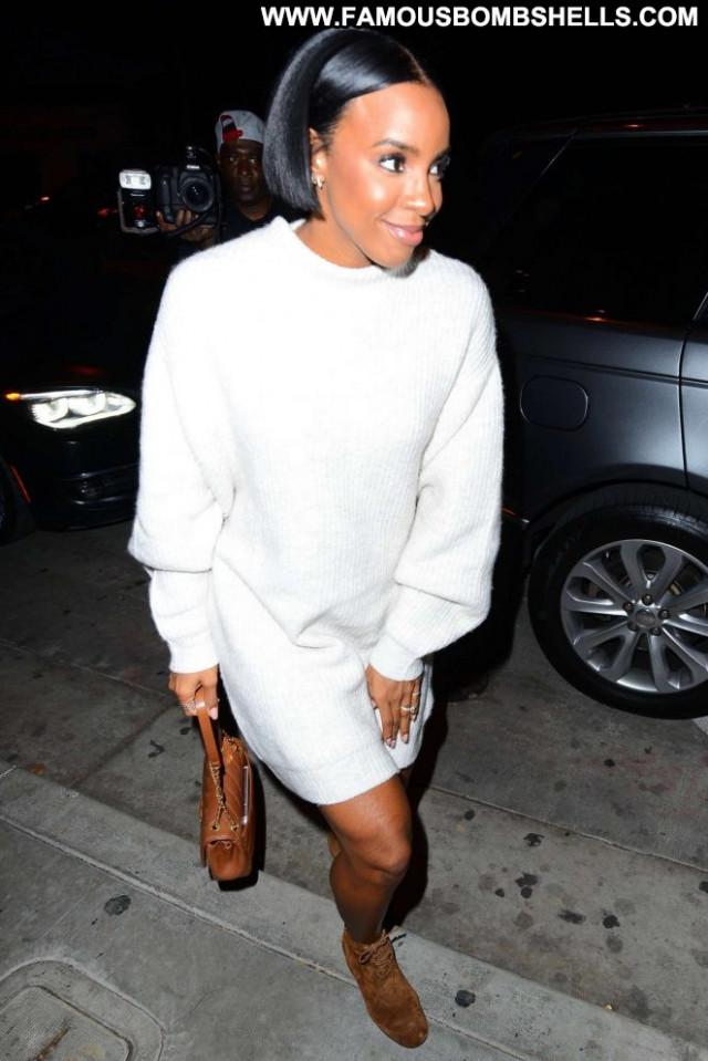 Kelly Rowland West Hollywood Posing Hot Paparazzi West Hollywood