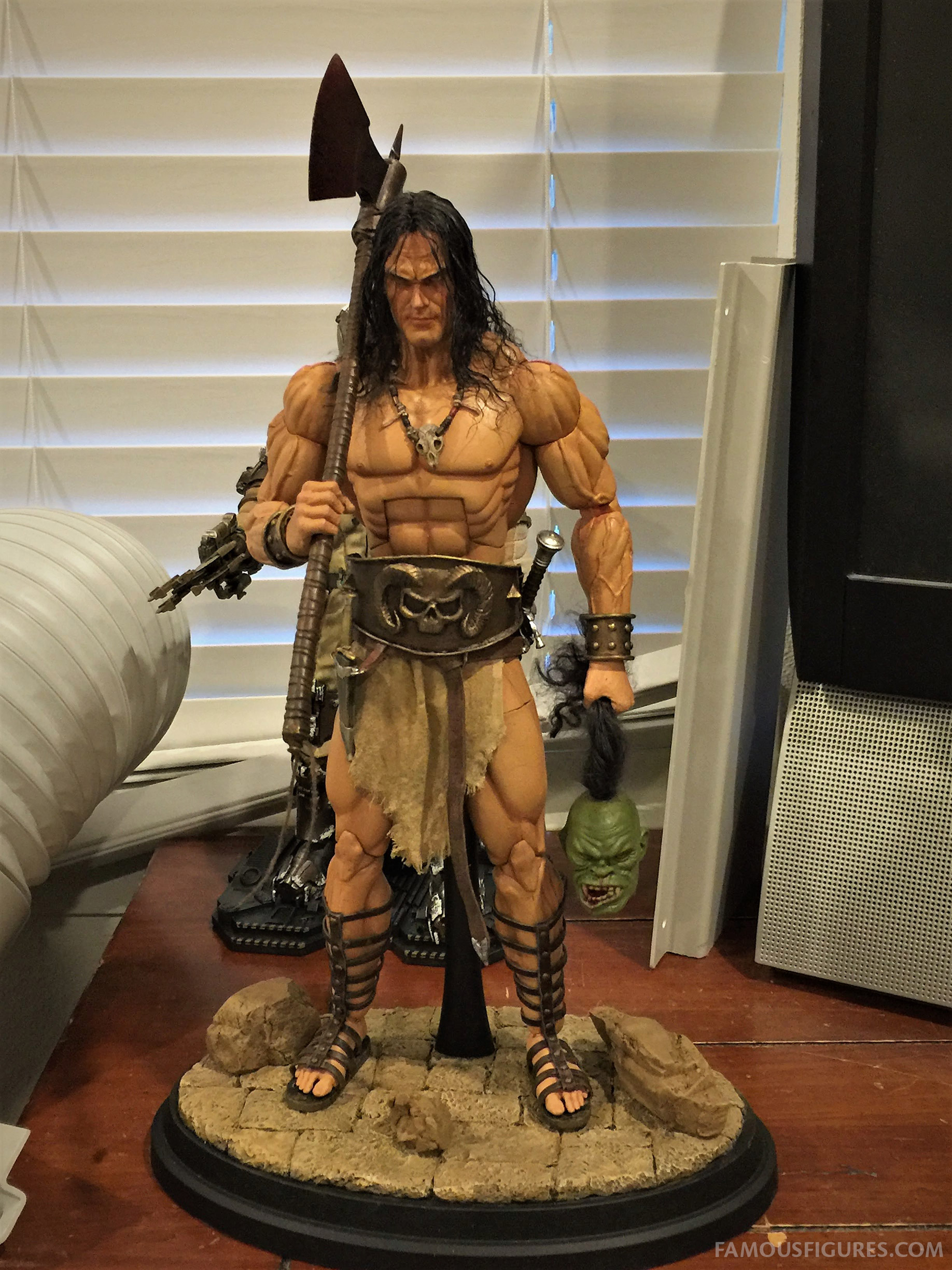 Conan The Barbarian Marvel Comics Style 16 Scale Figure