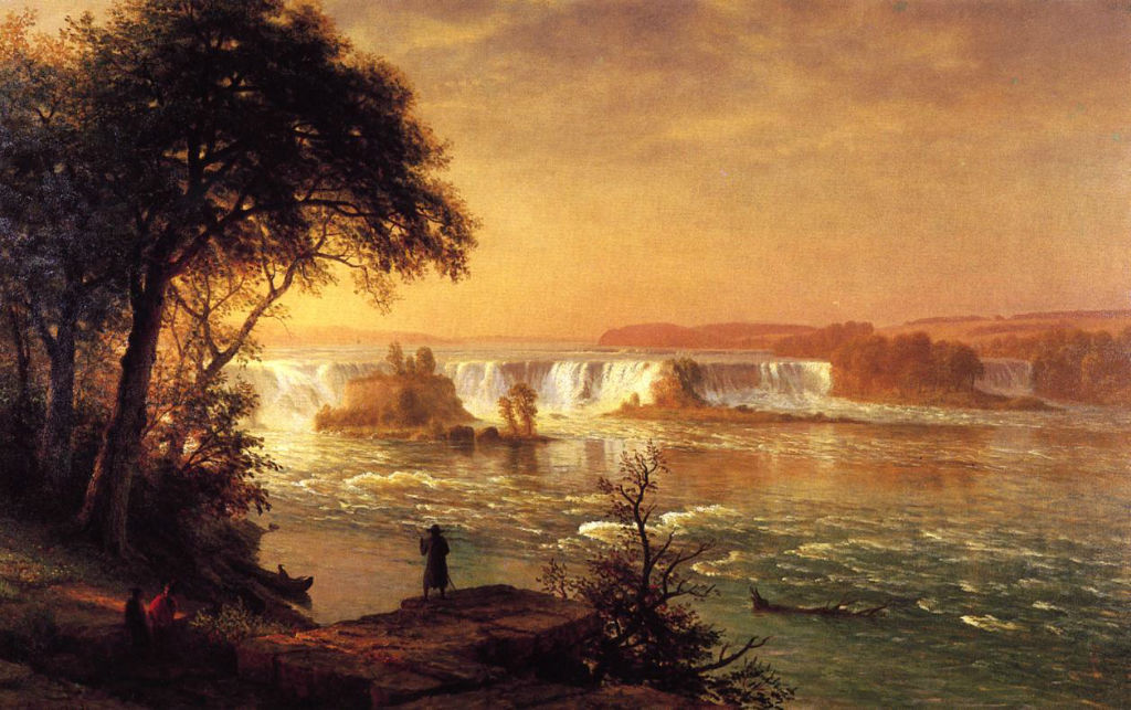 The Falls Of St Anthony by Albert Bierstad