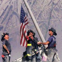 Raising the Flag at the WTC