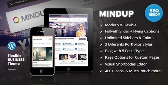 mindup-a-flexible-corporate-wordpress-theme