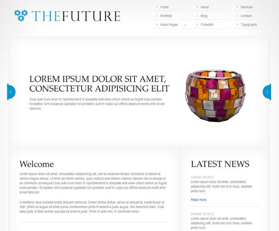 thefuture-wordpress-simple-corporate-theme