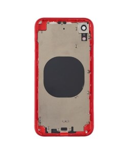 iphone xr rear housing red