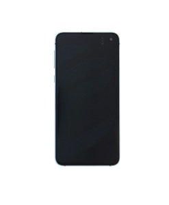 For Samsung Galaxy S10e OLED Screen with Frame Assembly Replacment - Prism Blue
